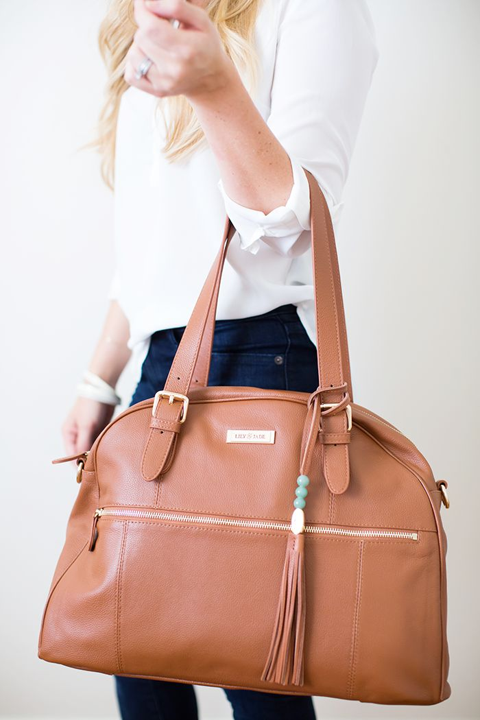How to use your Lily Jade Diaper Bag after your babies are out of diapers! Making the most of your investment! by Ashlee Proffitt