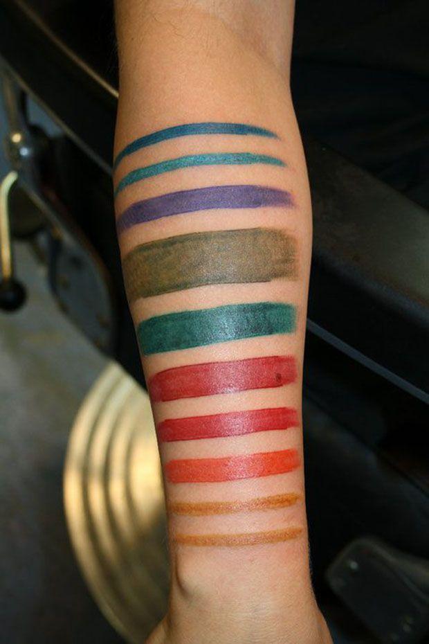 Tatuagem pincelada