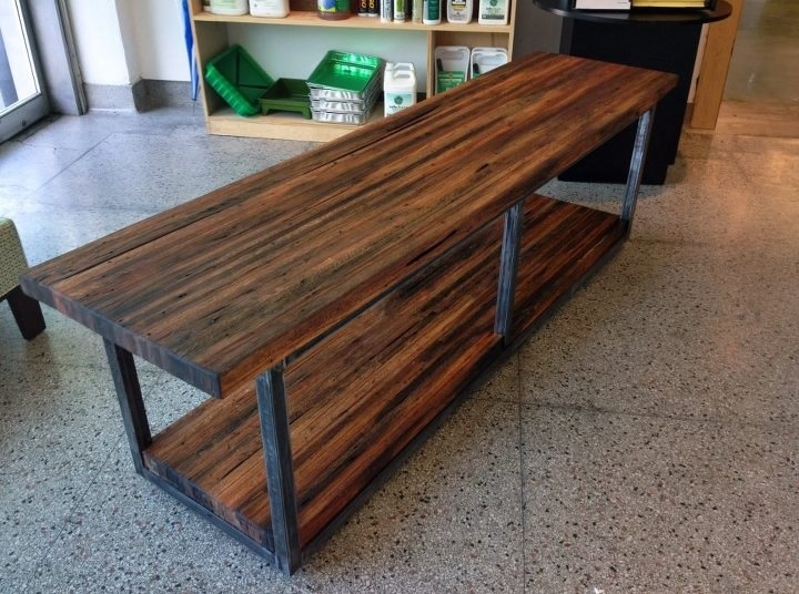 reclaimed wood furniture made by Justin Cooper in Houston - 16 Best Wood Tables Images On Pinterest