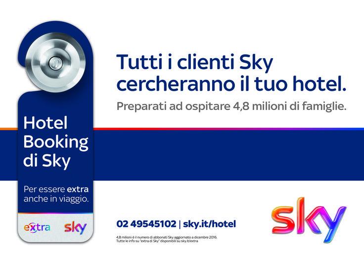 📢 Grandi notizie in casa Booking Expert! 📢 Sky lancia il nuovo portale Hotel Booking di Sky, sviluppato da Booking Expert! Una piattaforma dedicata ai clienti #Sky, che permetterà loro di scegliere un hotel Sky e, se sono clienti Extra, di usufruire di servizi riservati durante il soggiorno. Nasce così un network di opportunità: per gli ospiti, che otterranno vantaggi esclusivi, e per gli #hotel che avranno una via preferenziale per essere scelti dagli abbonati Sky. Cosa ne pensate? Info…