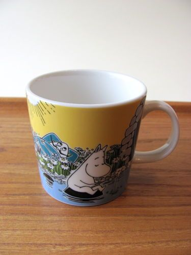 Moomin-Mug-Summer-2015-Moment-at-the-shore-Tove-Jansson-NWT
