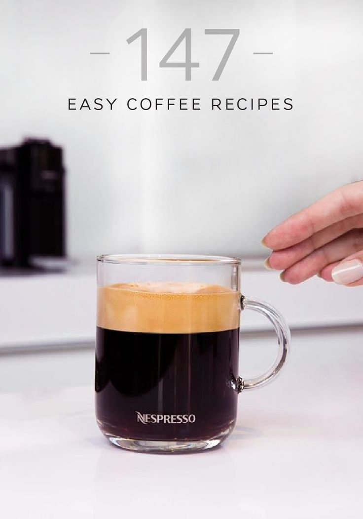 Browse Nespresso's collection of easy coffee recipes to find an elegant coffee creation for every moment. Start your morning off on a delicious note with a warm Gingerbread Coffee. Or, celebrate the end of a long day with a luxuriously sweet Vienna Vanilla Coffee Latte.