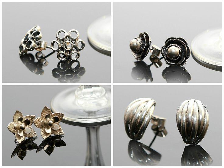 Het perfect cadeau! Heel mooie oorknopjes van zilver 950 Gratis verzending in Nederland www.dczilverjuwelier.nl