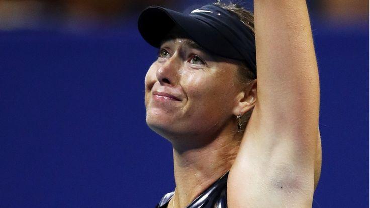 US Open: Maria Scharapowa besiegt Simona Halep - Bild.de