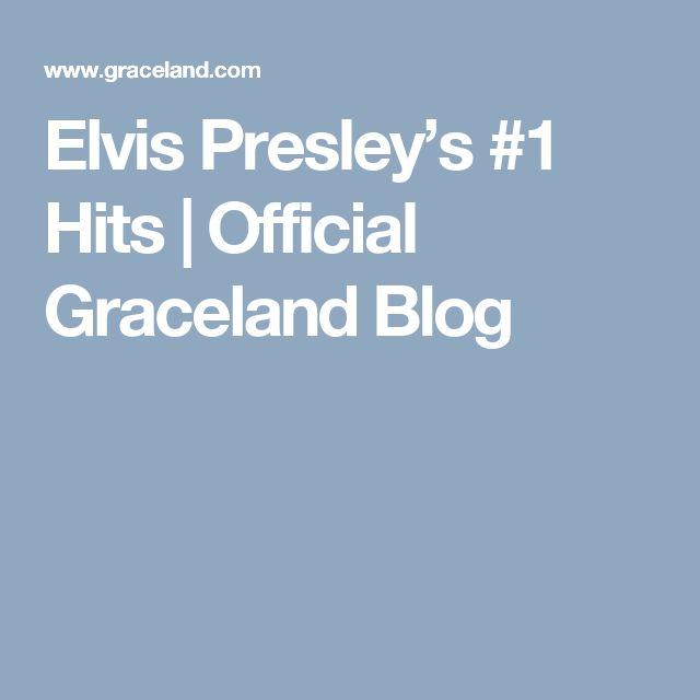 Elvis Presley's #1 Hits   Official Graceland Blog