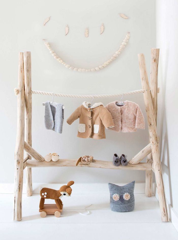 Wooden Baby Clothes Hangers