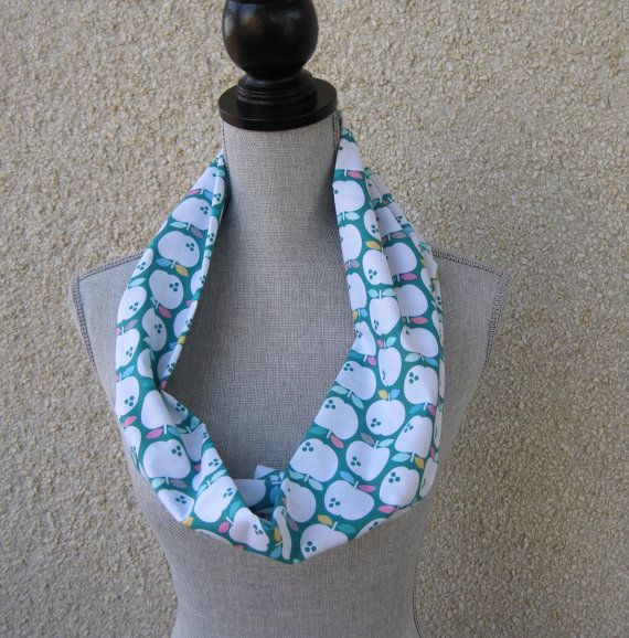 Infinity scarf tube scarf eternity scarf loop by FootlessDesigns, $10.00