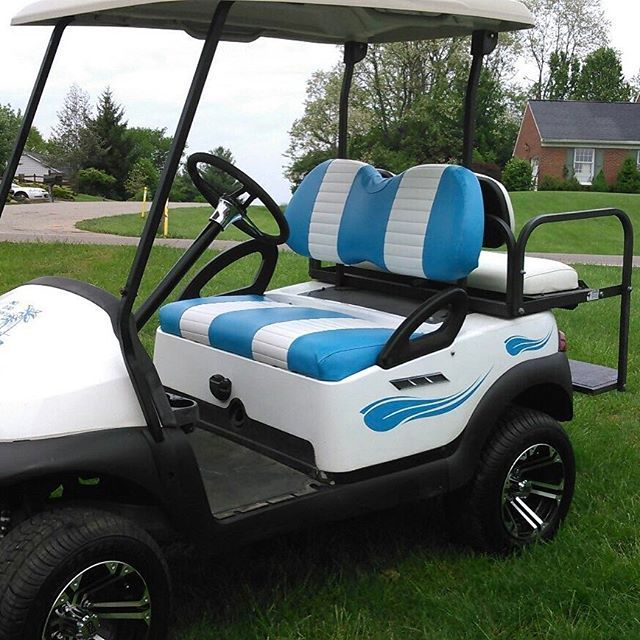 Our Golf Cart Decals Installed Love Stickers Sticker Decals Decal Golf Golfer Golfcarts Golfswing Golfcarts Golfr Golflife Golf Carts Golf Golfer