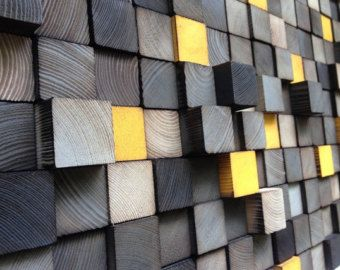 Wood Wall Art Wood Sculpture 3D Wall Art by WallWooden on Etsy