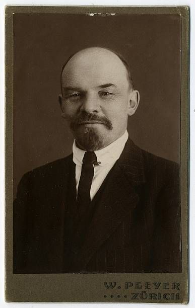 Vladimir Ilyich Ulyanov Lenin in Zurich, Switzerland,1916. Photographer Wilhelm Pleyer -Getty Images