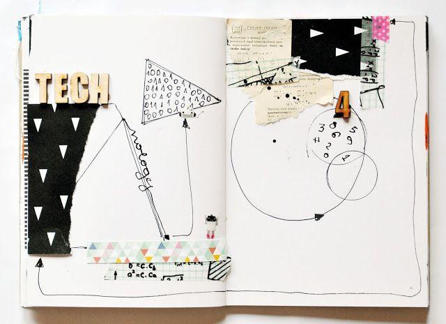 Olennka : art journal theme technology