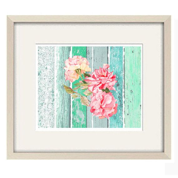 nursery artflower art printabstract art by OzscapeDesigns on Etsy