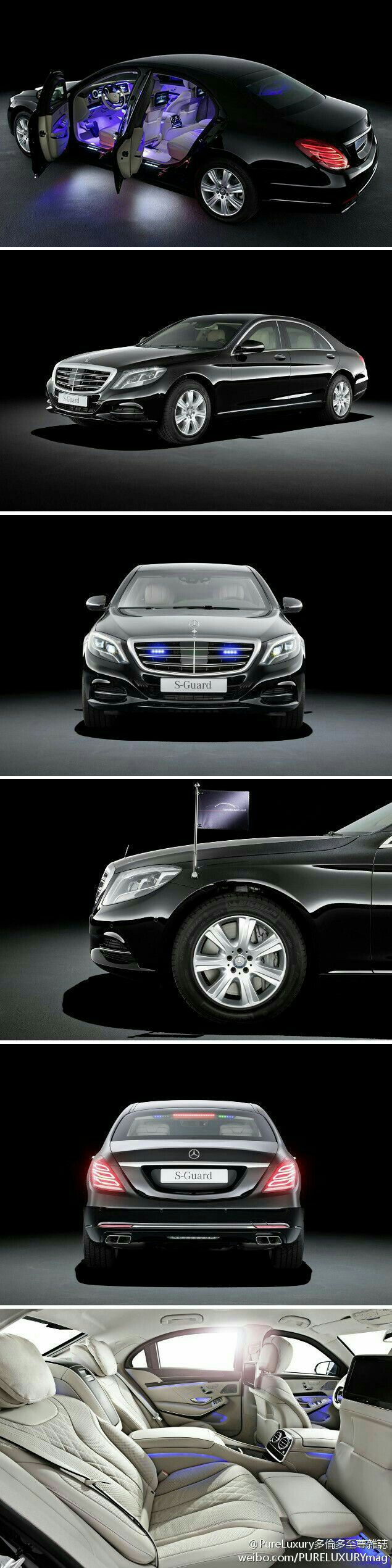Mercedes Benz S600 Guard   Security Vehicles   Pinterest ...