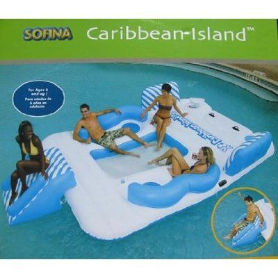 Island waterfun water fun random lake epic pool products kid