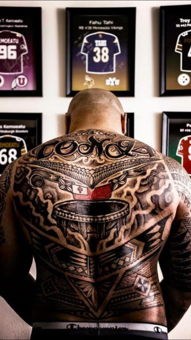 The World Of Maori Tattoo: Tattoo By Fred Frost.