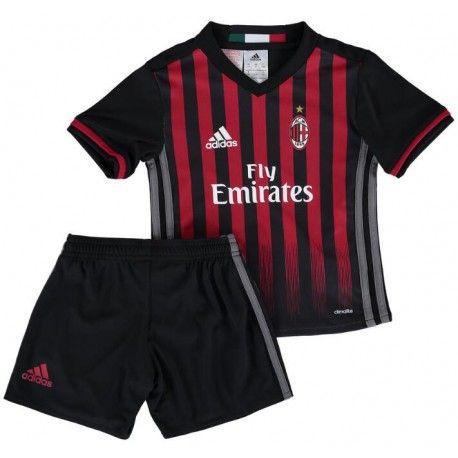 Camisetas del AC Milan para Niños Home 2016 2017