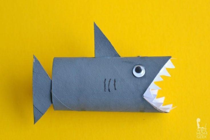 10 Superbes bricolages à faire avec les enfants! Avec des rouleaux de papier!