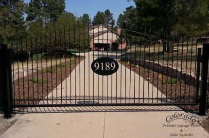 Driveway Gate System Photos | Denver Garage Door Repair | Automatic Driveway Gate systems