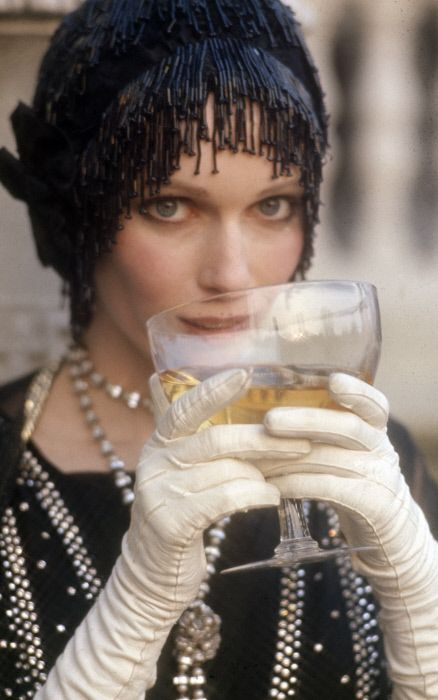 Mia Farrow in The Great Gatsby.