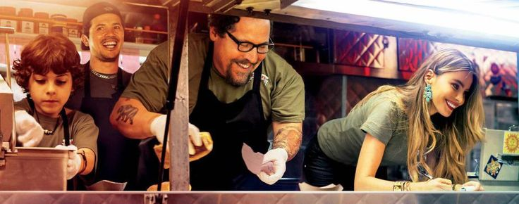 """Two Dinners and a Movie: review of touching and inspiring movie """"Chef"""" by Jon Favreau #MovieChef"""
