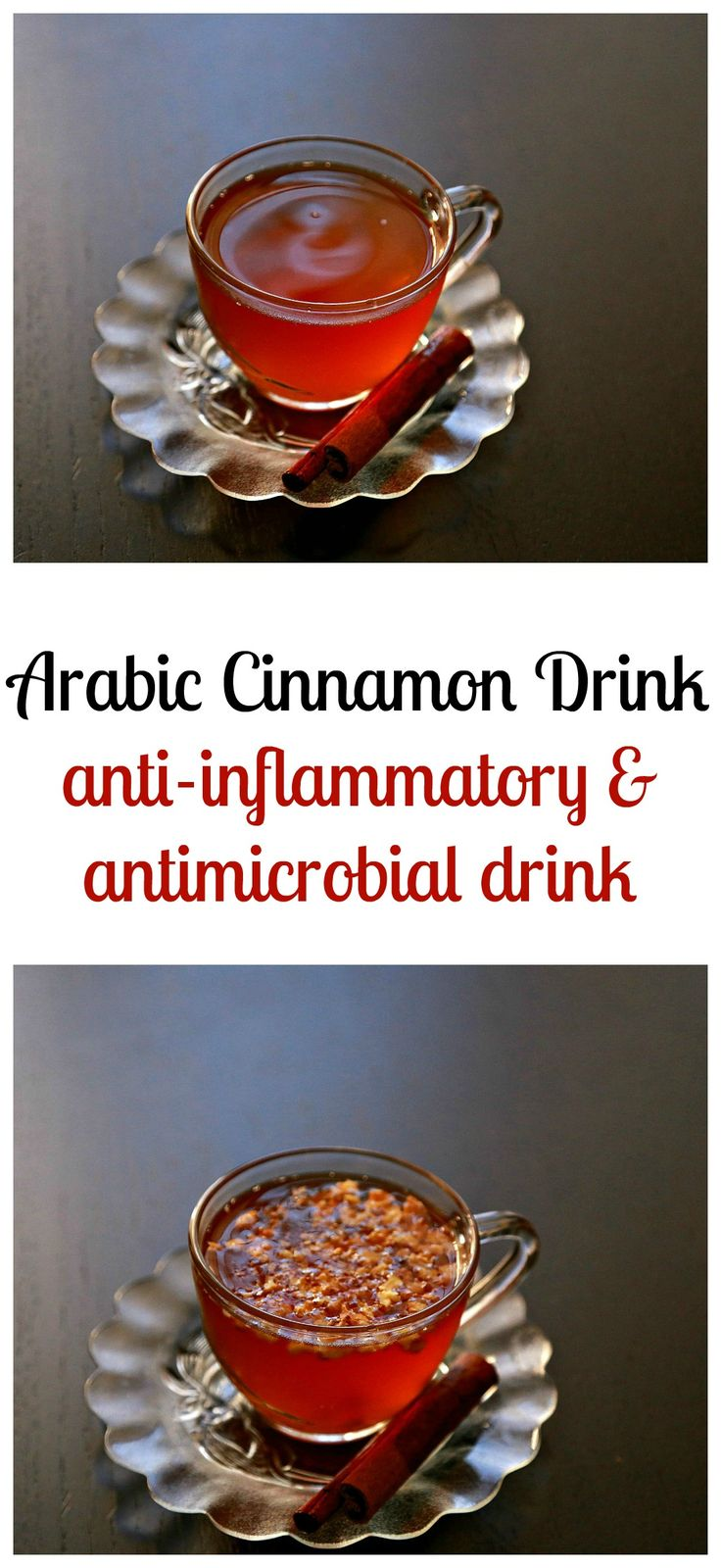 A relaxing hot cinnamon drink that is packed with nutrients, easy to make and sure to ease anxiety, make it tonight for a quite night!