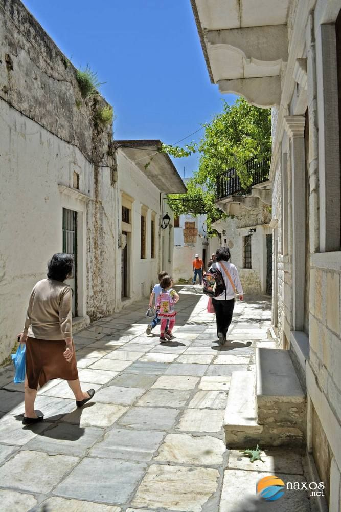 Back from school, at Apeiranthos village, Naxos, Greece: http://tinyurl.com/oexf3zv