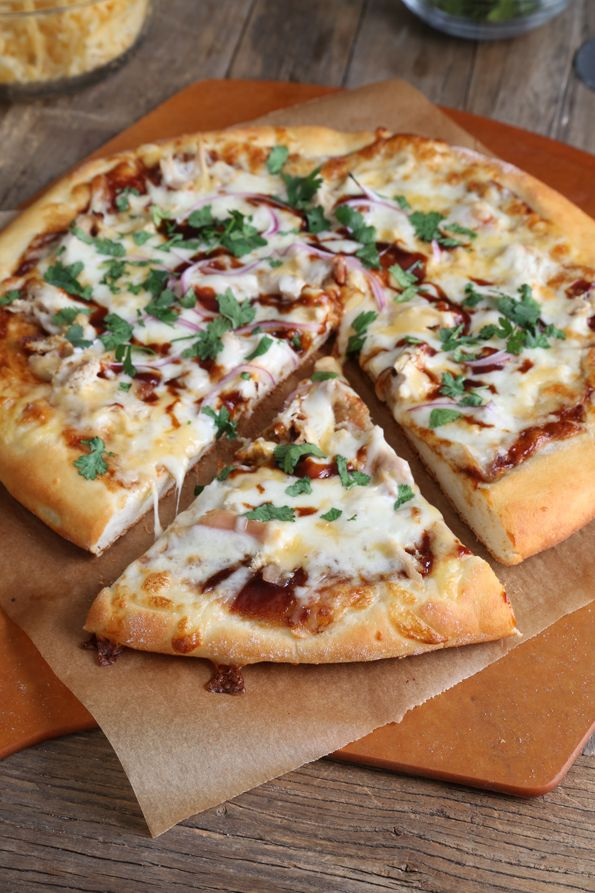 Get this tested recipe for gluten free bbq chicken pizza, just like BBQ Chicken Pizza from California Pizza Kitchen—but gluten free!