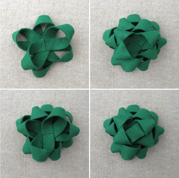 Felt Gift Bow DIY Tutorial | Heartmade Blog