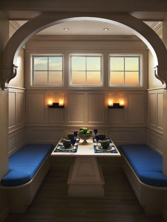 Kitchen booth design kitchen design ideas pinterest - Kitchen booth plans ...