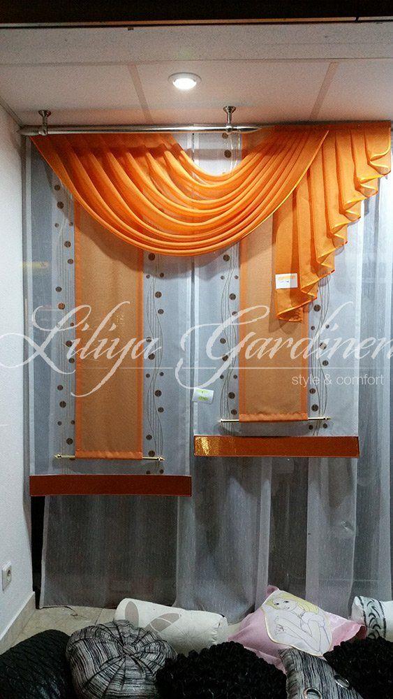 Küche \ Bad « Gardinen Liliya gardine Pinterest - gardine für küche