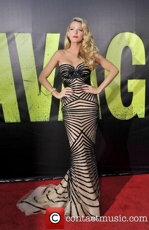 Blake Lively The premiere of 'Savages' at Westwood
