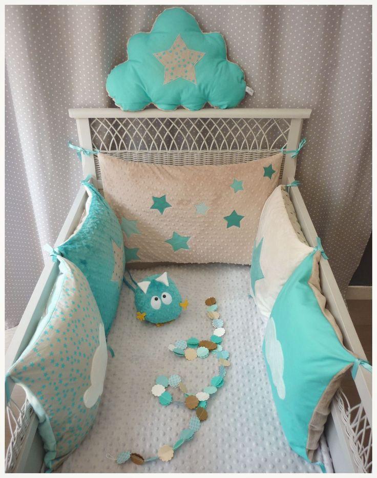 Les 74 meilleures images du tableau tour de lit bebe sur Pinterest ...