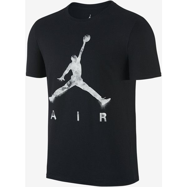 Jordan Jumpman Air Dreams Men's T-Shirt. Nike.com ($35) ❤ liked on Polyvore featuring men's fashion, men's clothing, men's shirts, men's t-shirts, nike mens shirts, mens t shirts and nike mens t shirts