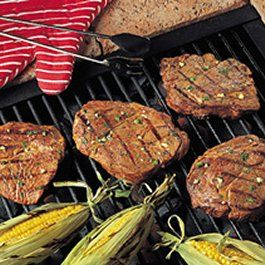 Grilled Lime Cilantro Steaks