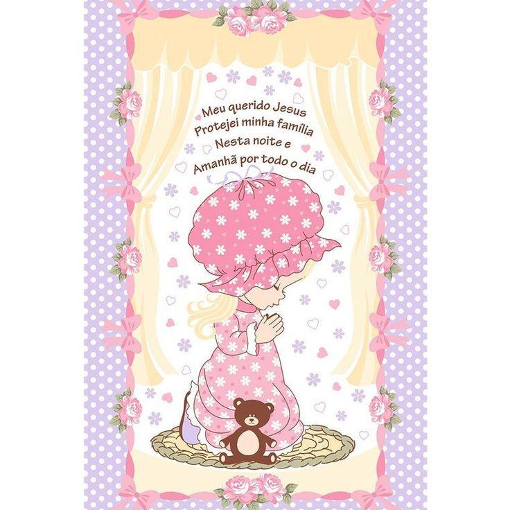 toalha-infantil-aveludada-estampada-menina-buettner - Casa da Kite