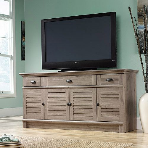 1000 images about tv consoles on pinterest media stands for Oak harbor furniture