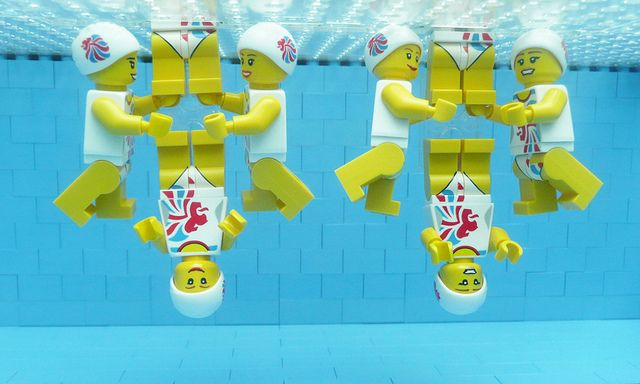 LEGO Olympics 2012  synchro team team by Bricks for Brains, via Flickr