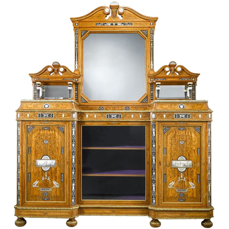 The Wright And Mansfield Exhibition Sideboard (1860). The 19th Century Was  The Age