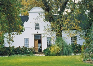 A traditional Cape Dutch home - found throughout the Western Cape.  Stunning architecture brought to Cape Colony by the Dutch founding fathers