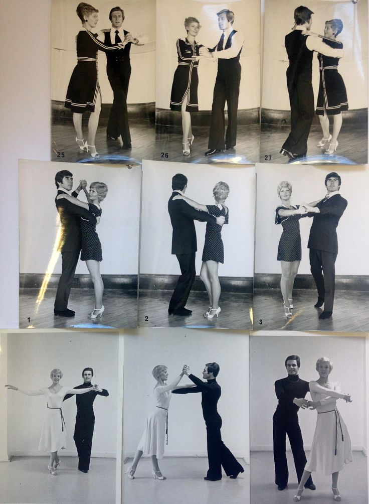 Here are three couples in the @ISTD revised techniques for Latin American dancing in 1970s. #ThrowbackThursday #tbt