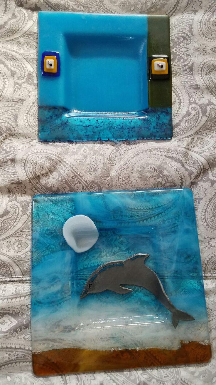 Pin by Nancy DiBuono on GlasSerenity Fused glass jewelry