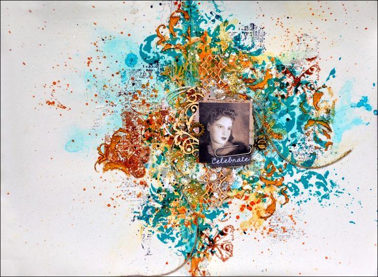 "Art Journal - ""Celebrate""."