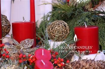 Where to Find Red Beeswax Christmas Candles