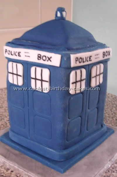 Dr Who Groom Cake?
