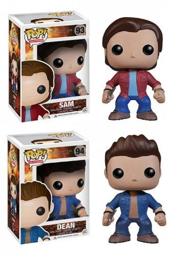 "Supernatural 3.75"" Pop TV Vinyl Figure Set Of 2: Sam & Dean FunKo,http://www.amazon.com/dp/B00H8W2DX0/ref=cm_sw_r_pi_dp_.7CUsb1C4CN7VDHG"