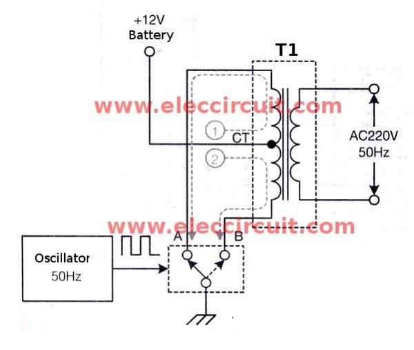 Make Simple 555 Inverter circuit using MOSFET