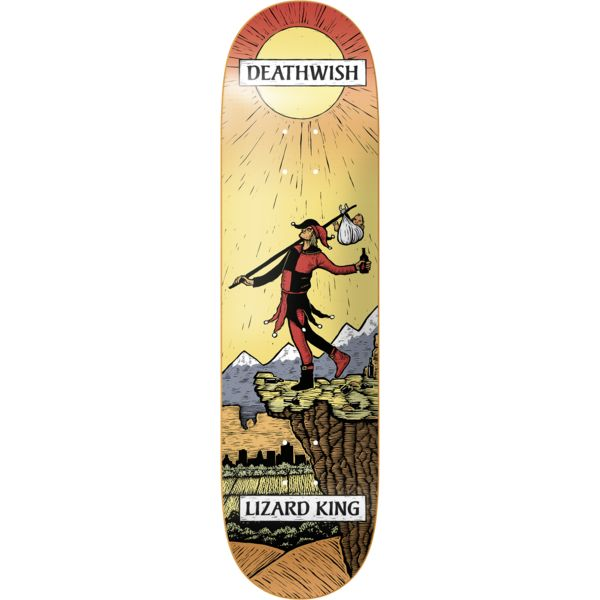 Lizard King Tarot Card 8.0 – deathwish