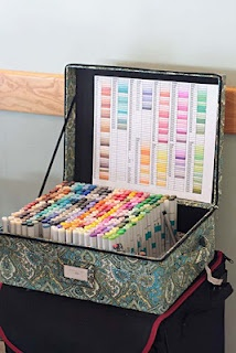 Cool Copic storage