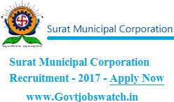 Surat Municipal Corporation Recruitment 2017 - 2144 Beldar & Sweeper Jobs Notification Apply @ www.suratmunicipal.gov.in, SMC Jobs 2017, SMC Vacancy 2017