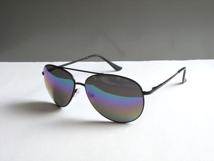 Style Moderne Damen Herren Sonnenbrille Sunglasses Pilotenbrille Verspiegelt NEU